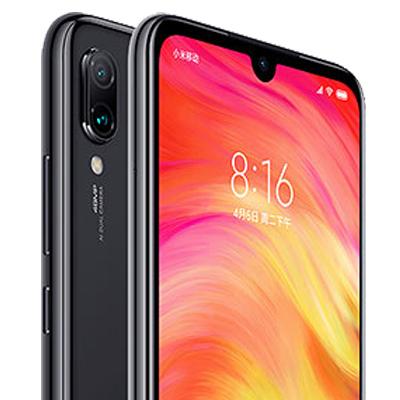 Detalle de cámara Xiaomi Redmi Note 7