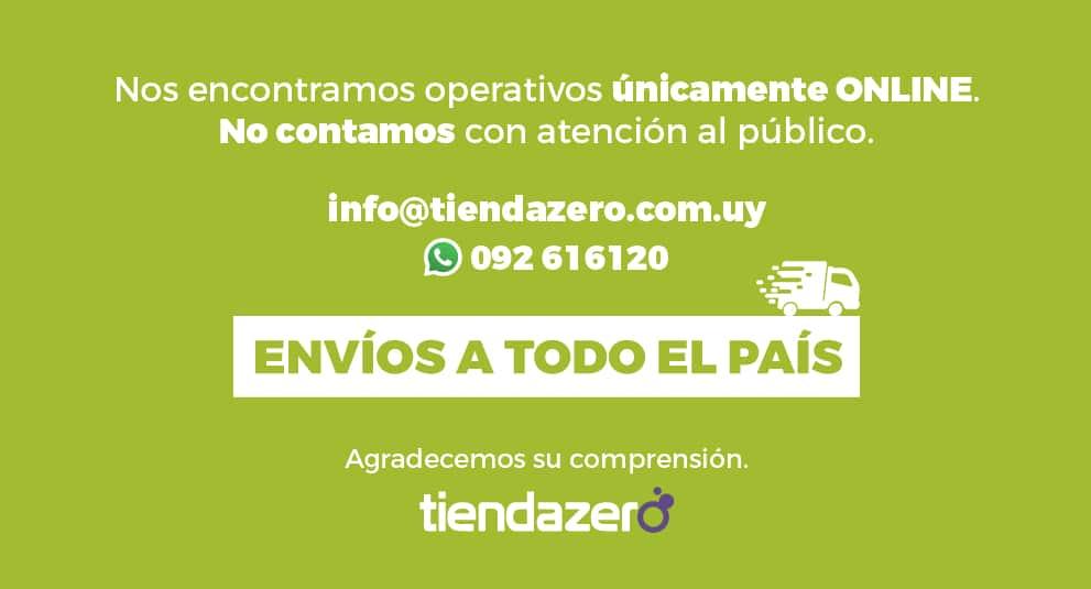 Atención Online + Envíos a todo el País